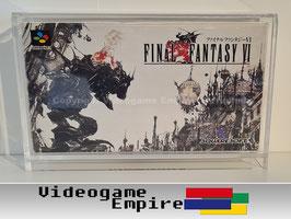ACRYL Schutzhülle SFC Super Famicom Spiele OVP [Horizontal]