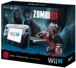 Wii U ZombiU Bundle Konsolen OVP Box Protector Schutzhülle