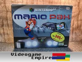 N64 Mario Pak Schuber Konsolen OVP Box Protector Schutzhülle