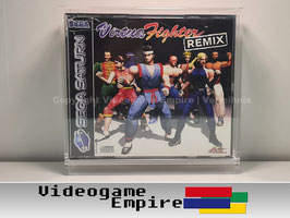ACRYL Box Sega Saturn Double CD Crystal Case Spiele OVP