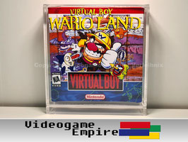 ACRYL Schutzhülle Virtual Boy Spiele OVP