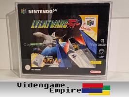 ACRYL Schutzhülle Lylat Wars Nintendo 64 Rumble Pak Bundle Spiele OVP