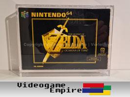 ACRYL Schutzhülle N64 Nintendo 64 Spiele OVP