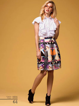 Gonna skirt art 16pe089 Animagemella Primavera Estate 2016