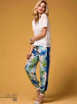 Pantalone pants art 16pe007 Animagemella Primavera Estate 2016