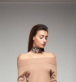 Collarino Accessori art 721dd90005 Denny Rose Autunno Inverno 2017-18
