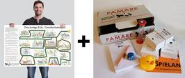 PAMARE + Das große Esel-Gesellschaftsspiel