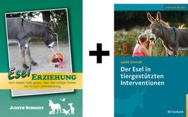 Bücherpaket: Esel Erziehung + Der Esel in tiergestützten Interventionen