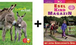 Bücherpaket: Entdecke die Esel + Esel-Kind MAGAZIN