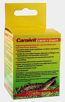 Lucky Reptile Carnivit - Vitmine und Minerlstoffe Inekten,- u. Fleischfresser Bartagamen, Warane u.v.m.