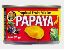 Zoo med´s - Tropical Fruit Mix ins : Red Banana, Papaya & Mango 95gr. Dosen