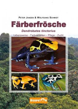 Färberfrösche - (Lebensweise, Farbformen, Pflege und Zucht  von P. Janzen und W. Schmidt