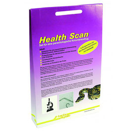 Lucky Reptile Health Scan-Parasitentest Kotuntersuchung Set