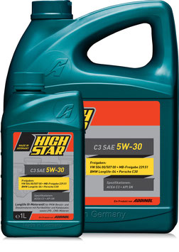 HIGH STAR C3 SAE 5W-30 (Set 1L & 5L)