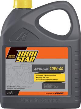 HIGH STAR A3/B4 SAE 10W-40 (5L)