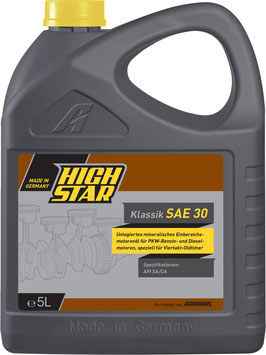 HIGH STAR Klassik SAE 30 (5L)