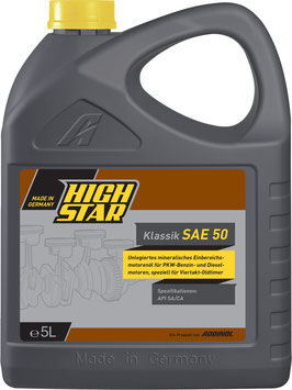 HIGH STAR Klassik SAE 50 (5L)