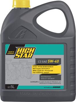 HIGH STAR C3 SAE 5W-40 (5L)