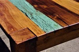 Handgefertigter Tisch aus antiker Eiche