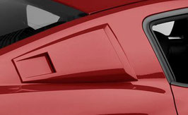 MMD Eleanor Style Window Scoops; Un or Pre-Painted
