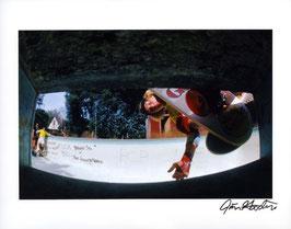 Photo Skateboard 1977 Brad Bowman