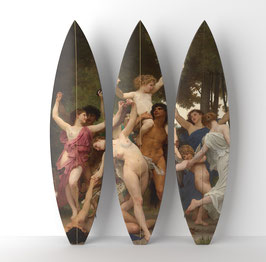 BACCHUS TRIPTYCH / 3  Surfboards