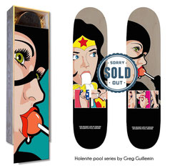 Secret Heroes Sk8-box / 2 Skateboards