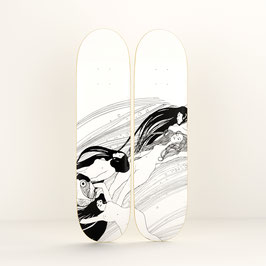 KLIMT DIPTYCH / 2 SKATEBOARDS