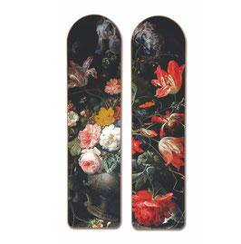 VINTAGE SURFBOARD DIPTYCH FLOWERS