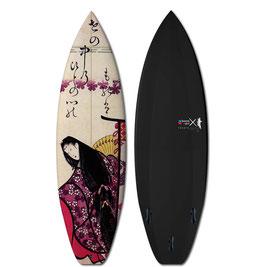 HOKUSAI POETESS 1 Surfboard