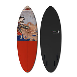KUNIYOSHI OCTOPUS 1 Surfboard
