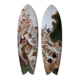les Oreades Diptych / 2  Surfboards