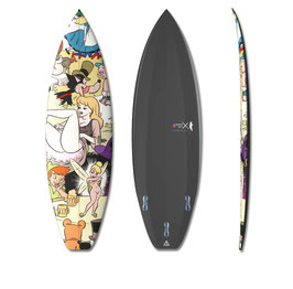 Disney Orgy 1 Surfboard