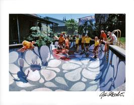 Photo Skateboard 1978 Flower Bowl