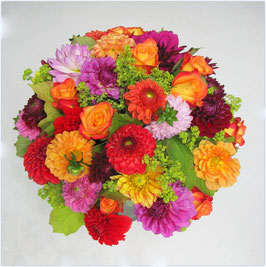 Dahlien & bunte Sommerblumen