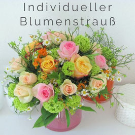 Individueller Blumenstrauß