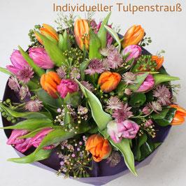 Individueller Tulpenstrauß