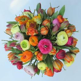 Frühlingsblumen Bouquet