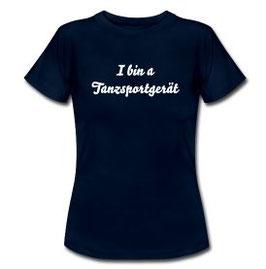 T-Shirt Damen navi Tanzsportgerät