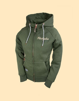 """RANCHGIRLS HOODED JACKET """"SHILOH"""" jungle green 