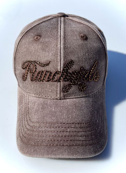 RANCHGIRLS CAP brown FADE OUT #2122RG