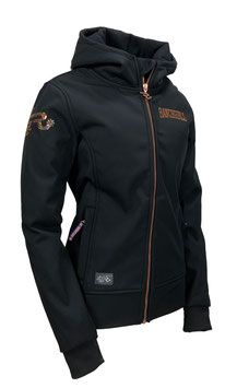 "RANCHGIRLS TECHNO-SHELL JKT ""SUNNY"" black 