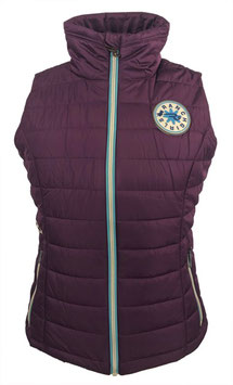"RANCHGIRLS VEST pro.tec.you ""CIRA"" plum"