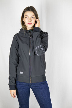 "RANCHGIRLS TECHNO-SHELL JKT ""SUNNY"" carbon 