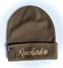 RANCHGIRLS BEANIE #21007RB khaki