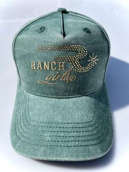 RANCHGIRLS CAP ivygreen FADE OUT #2107RG