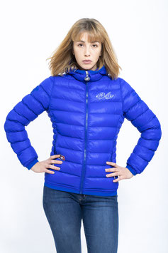 "OS-WOMEN HOODED PADDED JACKET ""SOPHIE"" kingsblue"