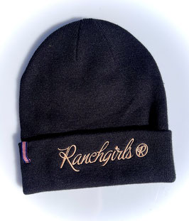 RANCHGIRLS BEANIE #21008RB black