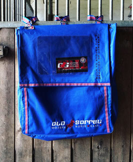 OLD SORREL HORSE EQUIPMENT BAG royal blue big