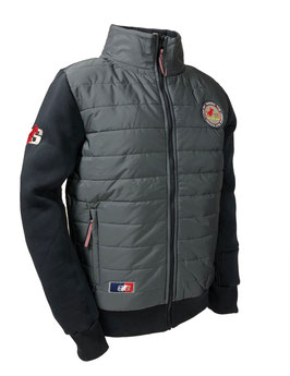 "MEN`S TRAINER ""PRO SHIELD"" SWEAT JACKET ""JIM"" carbon grey"